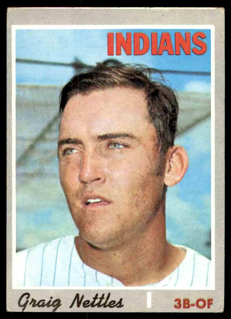 1970 Topps Graig Nettles #491 card front image