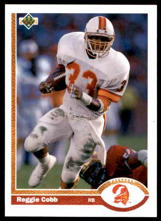 1991 Upper Deck Reggie Cobb #265 card front image