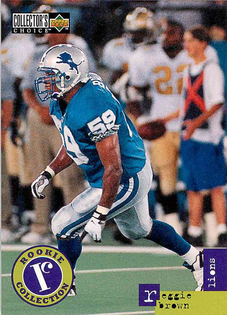 1996 Collector's Choice Update Reggie Brown #U10 card front image
