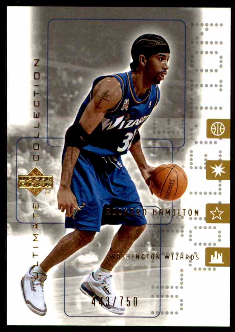 2001-02 Ultimate Collection Richard Hamilton #59 card front image