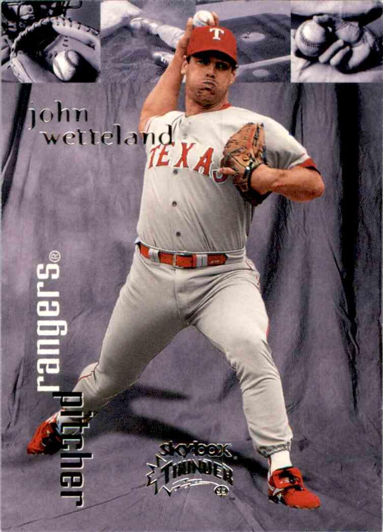 1999 SkyBox Thunder John Wetteland #92 card front image