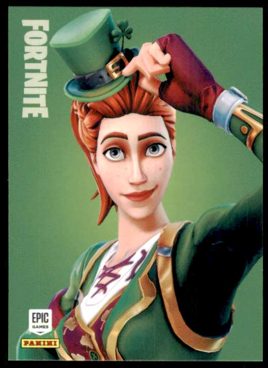 2019 Fortnite Series 1 Sgt. Green Clover U #140 card front image