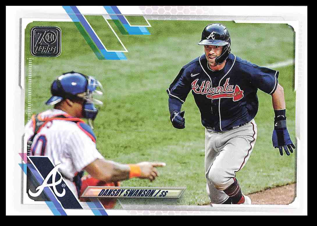 2021 Topps Series 1 Dansby Swanson #233 card front image