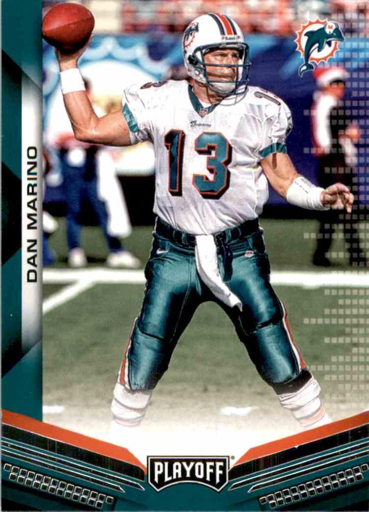 2019 Playoff Dan Marino #11 card front image