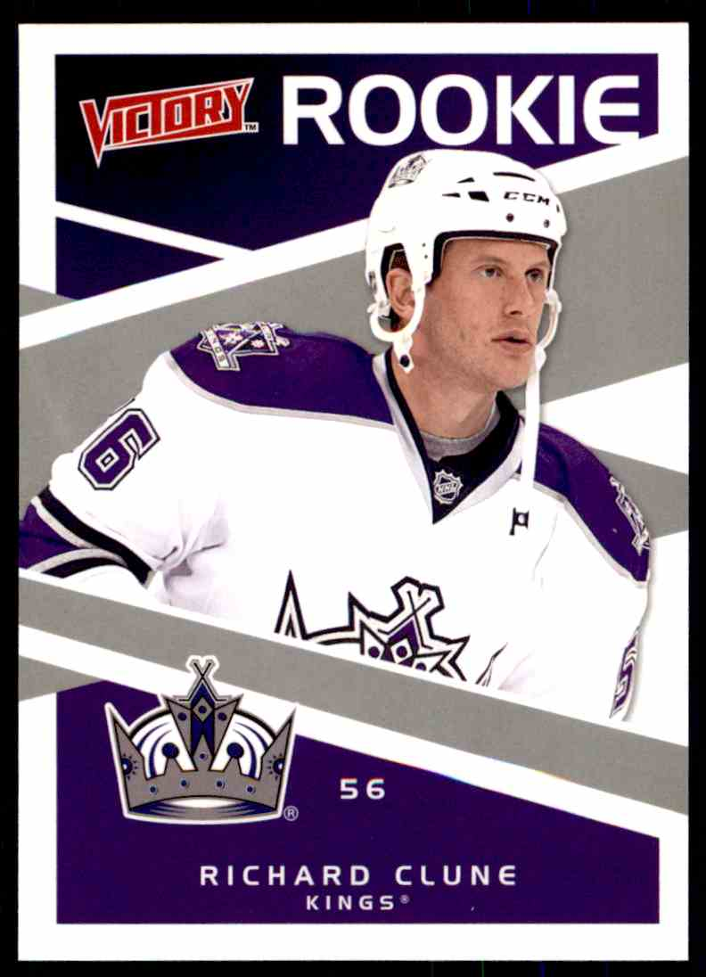 2010-11 Upper Deck Victory Rookie Richard Clune #222 card front image