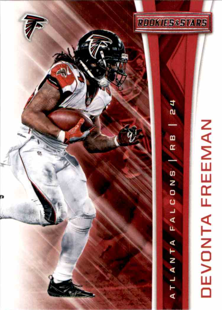 2017 Rookies And Stars Devonta Freeman #3 card front image