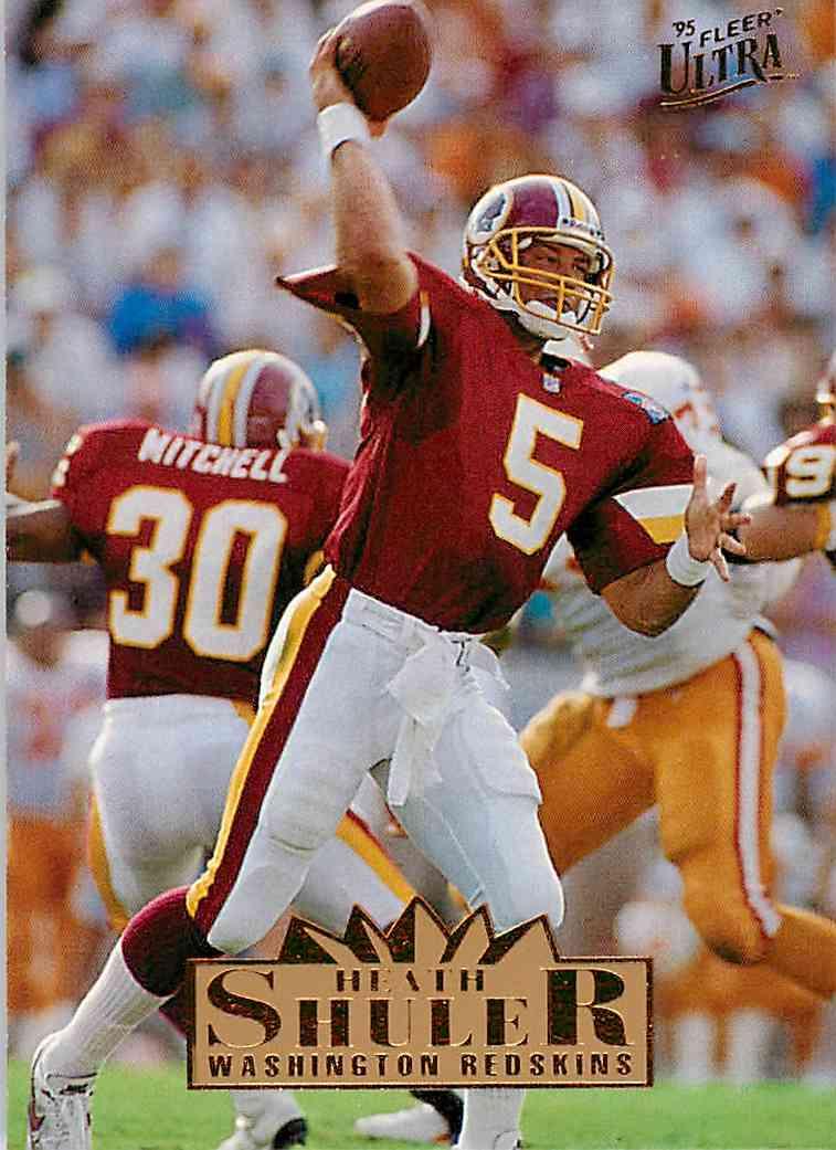 1995 Ultra Heath Shuler #343 card front image