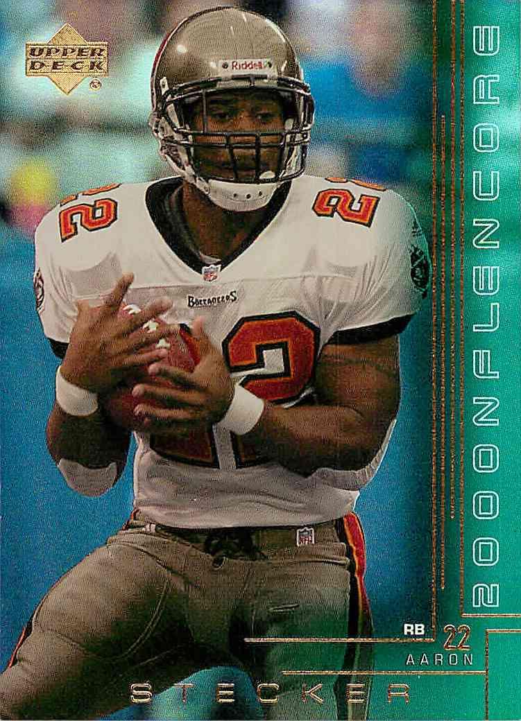 2000 Upper Deck Aaron Stecker #218 card front image
