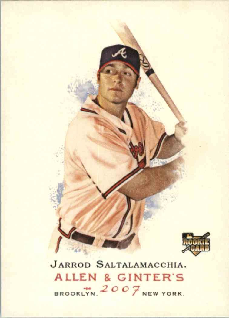 2007 Topps Allen & Ginter Jarrod Saltalamacchia #189 card front image
