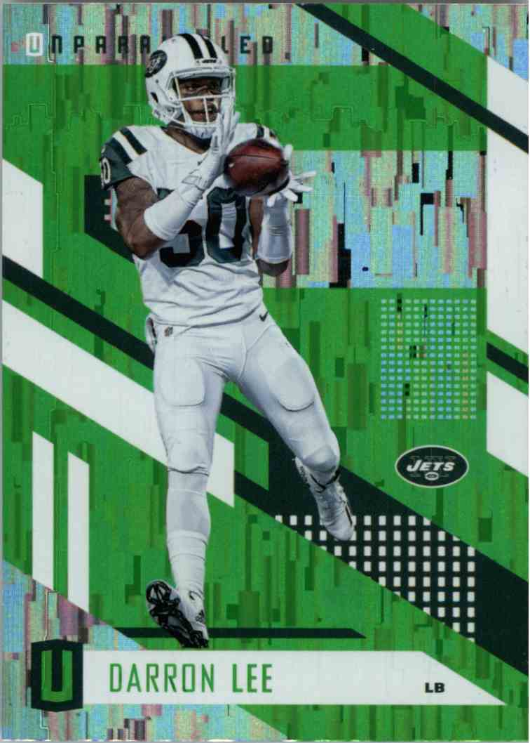 2017 Panini Unparalleled Wind Chimes Darron Lee #20 card front image