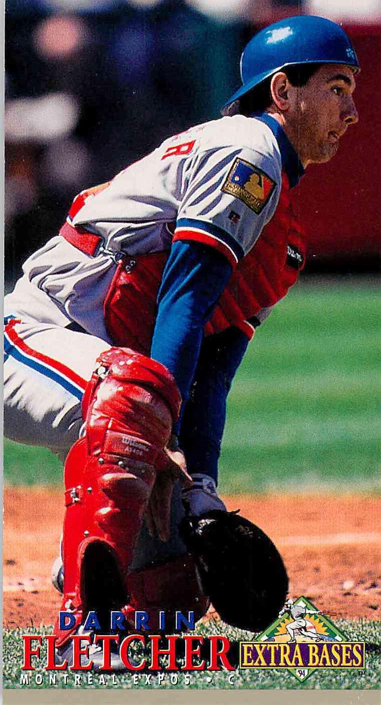 1994 Fleer Extra Bases Darrin Fletcher #304 card front image