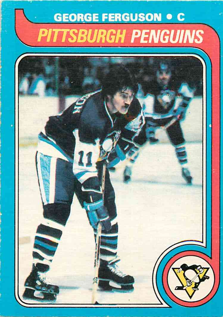 1979-80 O-Pee-Chee Gerorge Ferguson #139 card front image