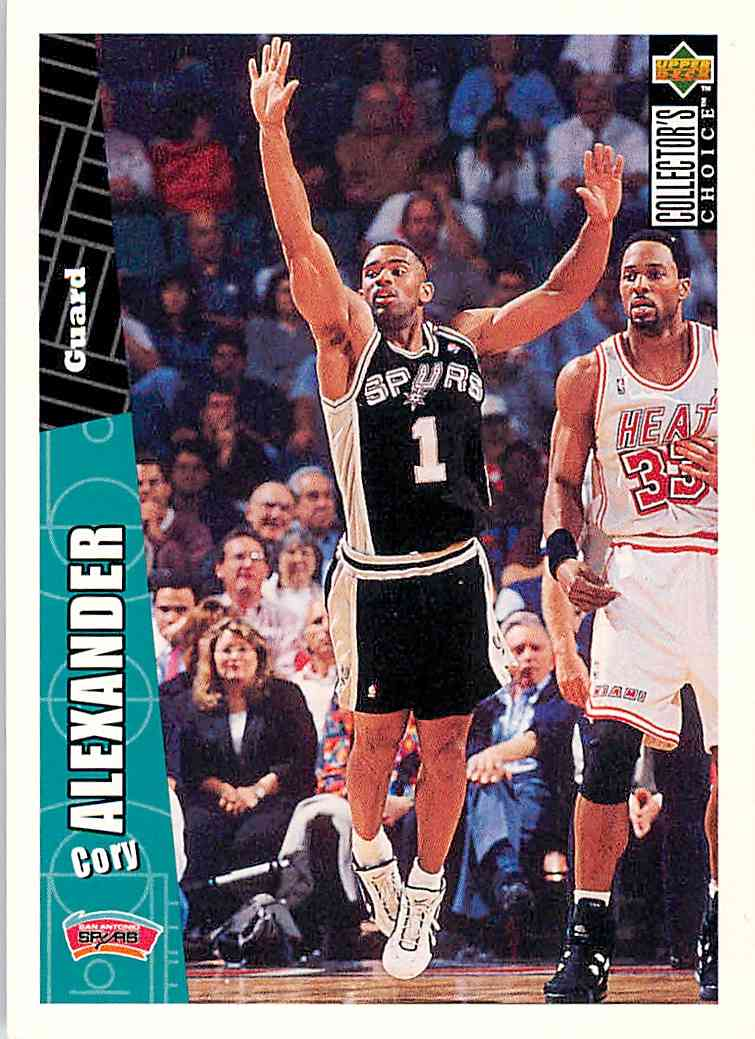 1996-97 Collector's Choice Cory Alexander #326 card front image
