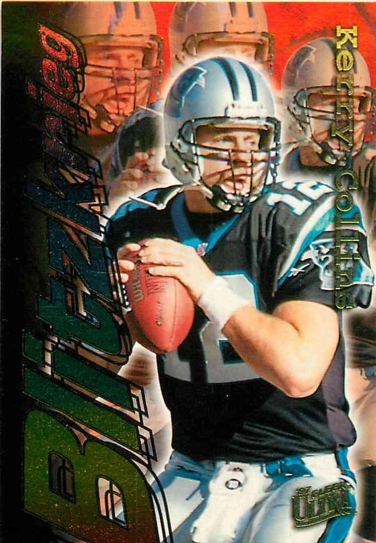 1997 Fleer Ultra Kerry Collins #17 card front image