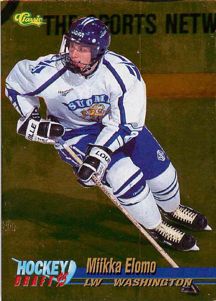 1995-96 Classic Gold Miikka Elomo #22 card front image