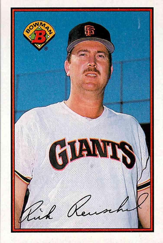 1990 Bowman Rick Reuschel #466 card front image