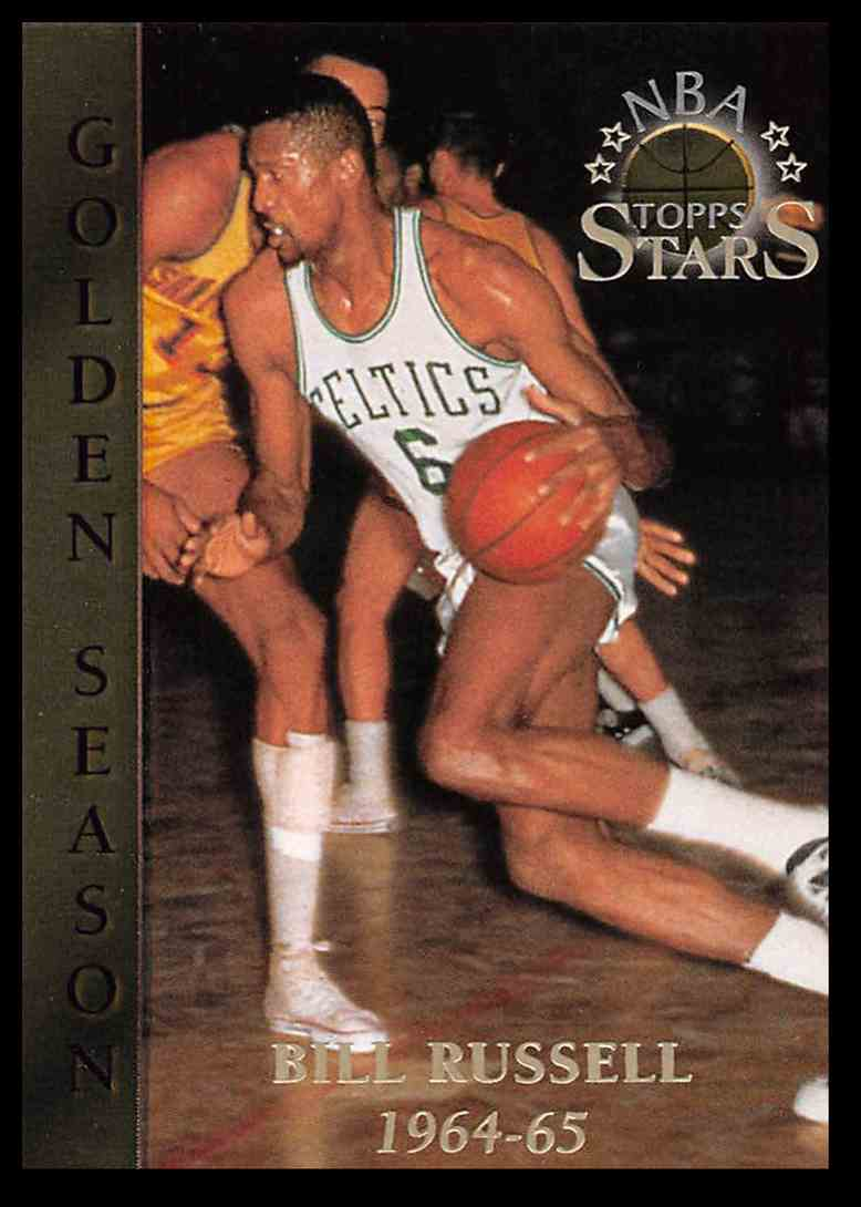 1996-97 Topps Topps Stars Bill Russell #90 card front image