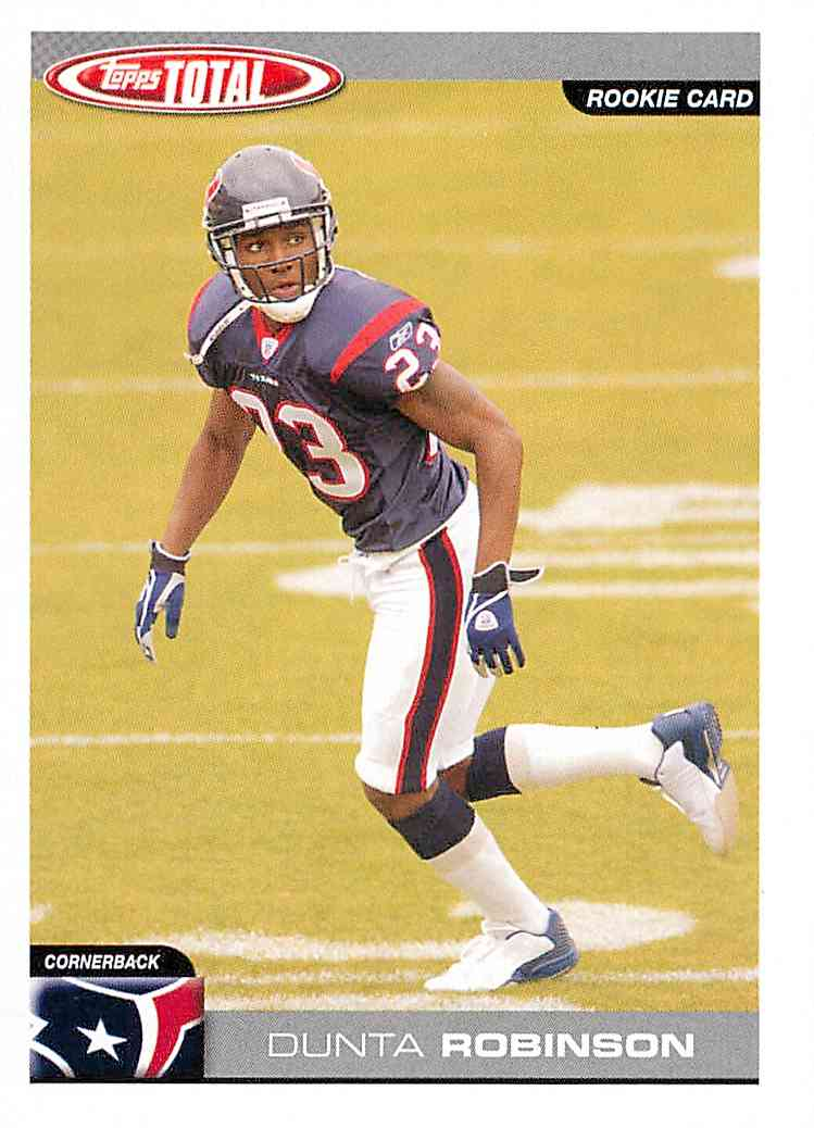 2004 Topps Total Dunta  Robinson #343 card front image