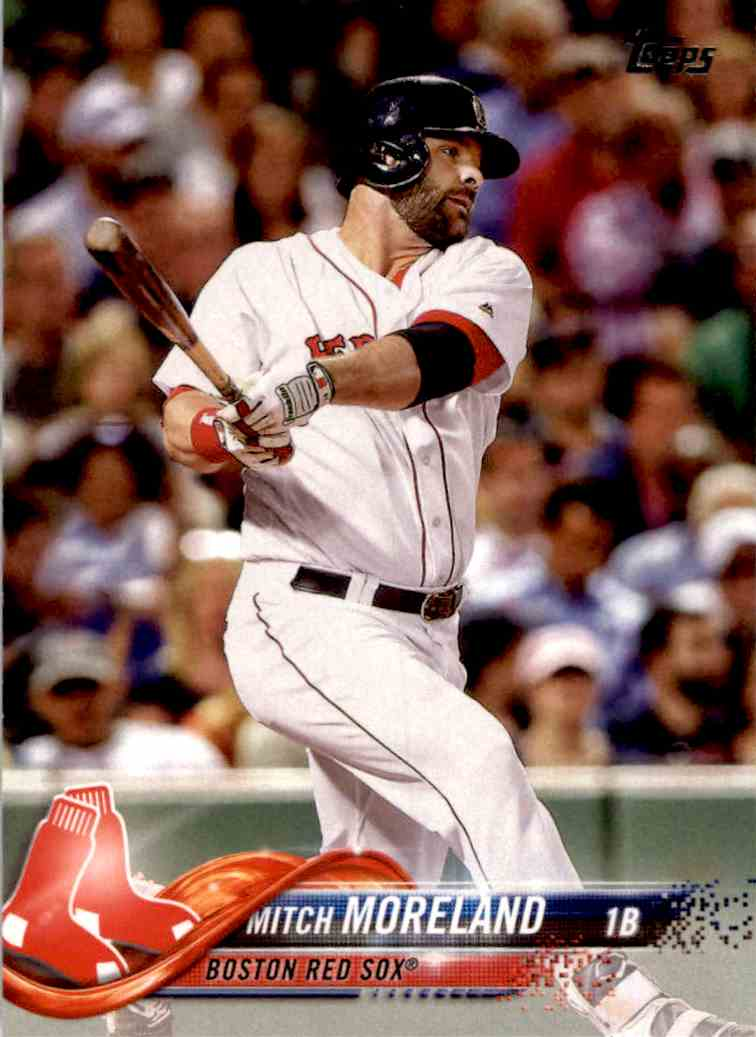 2018 Topps Series 1 Mitch Moreland #104 card front image