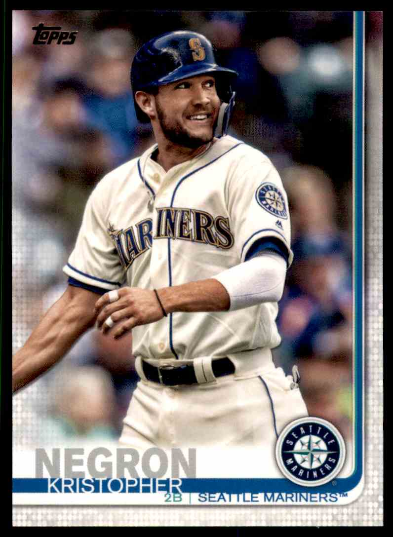 2019 Topps Series 2 Kristopher Negron #638 card front image