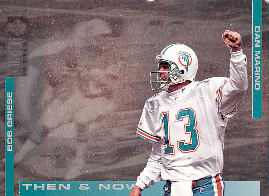 1994 Upper Deck Collector's Choice Bob Gricse,Dan Marino #5 card front image