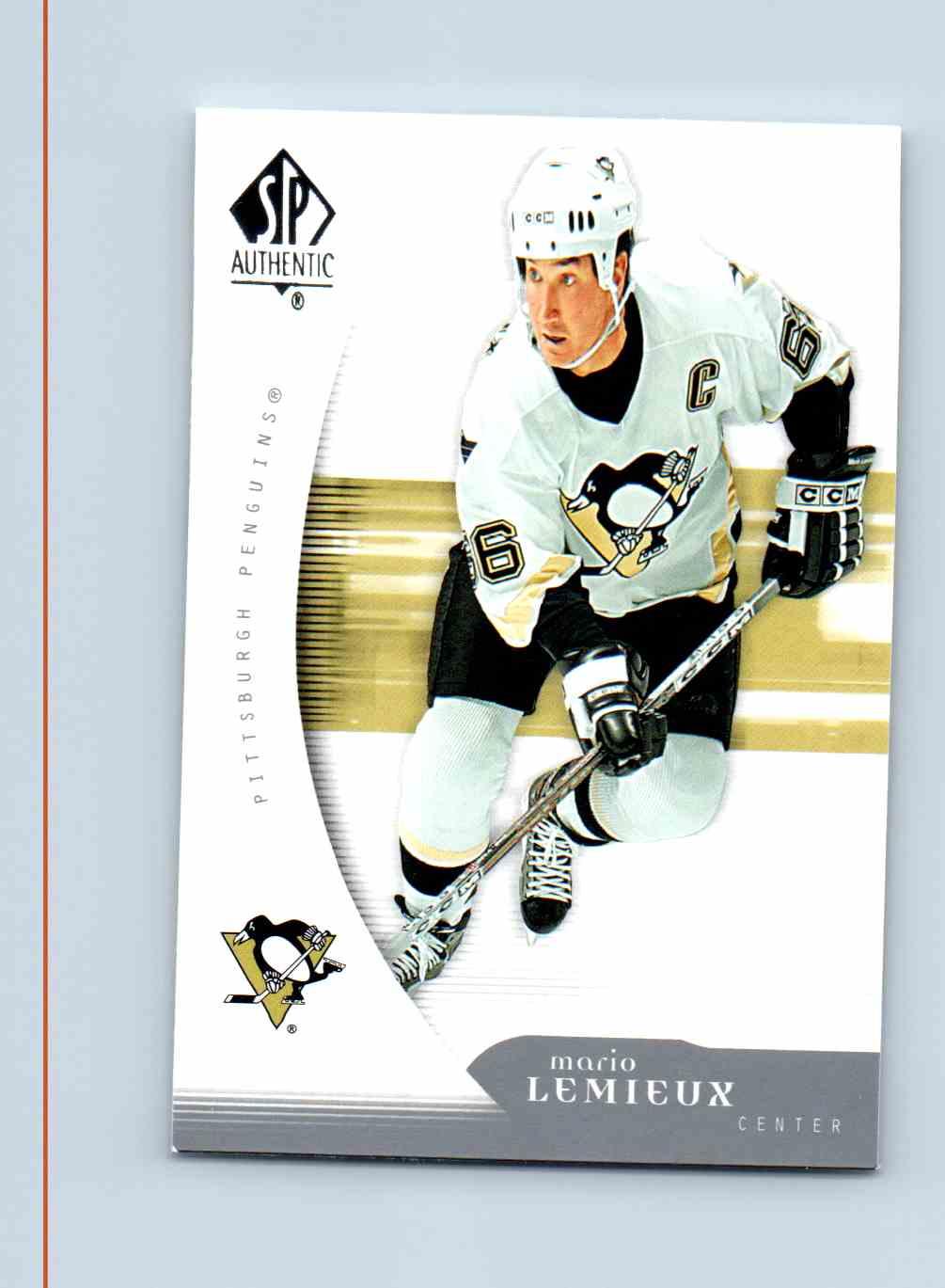 2005-06 SP Authentic Mario Lemieux #79 card front image