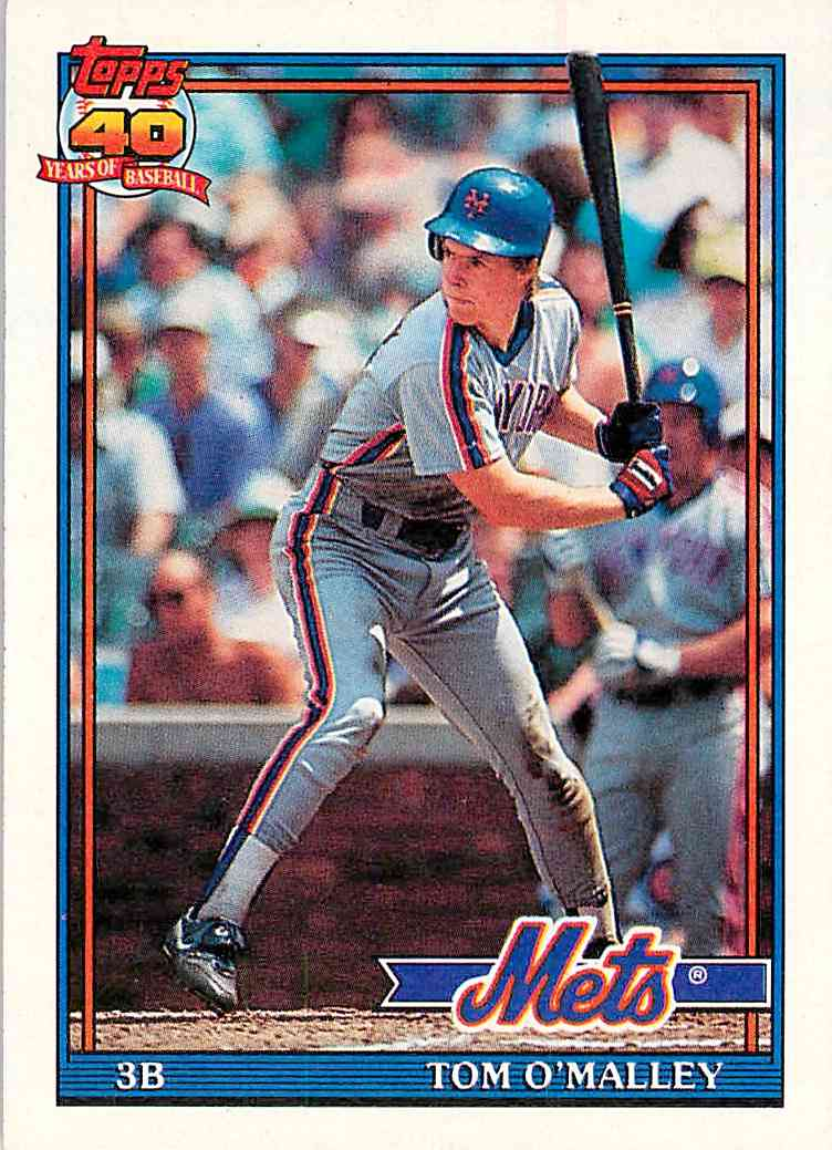 1991 Topps Tom O'malley #257 card front image