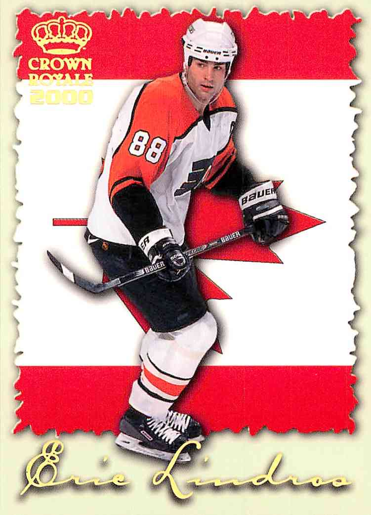 1999-00 Crown Royale Eric Lindros #18 card front image