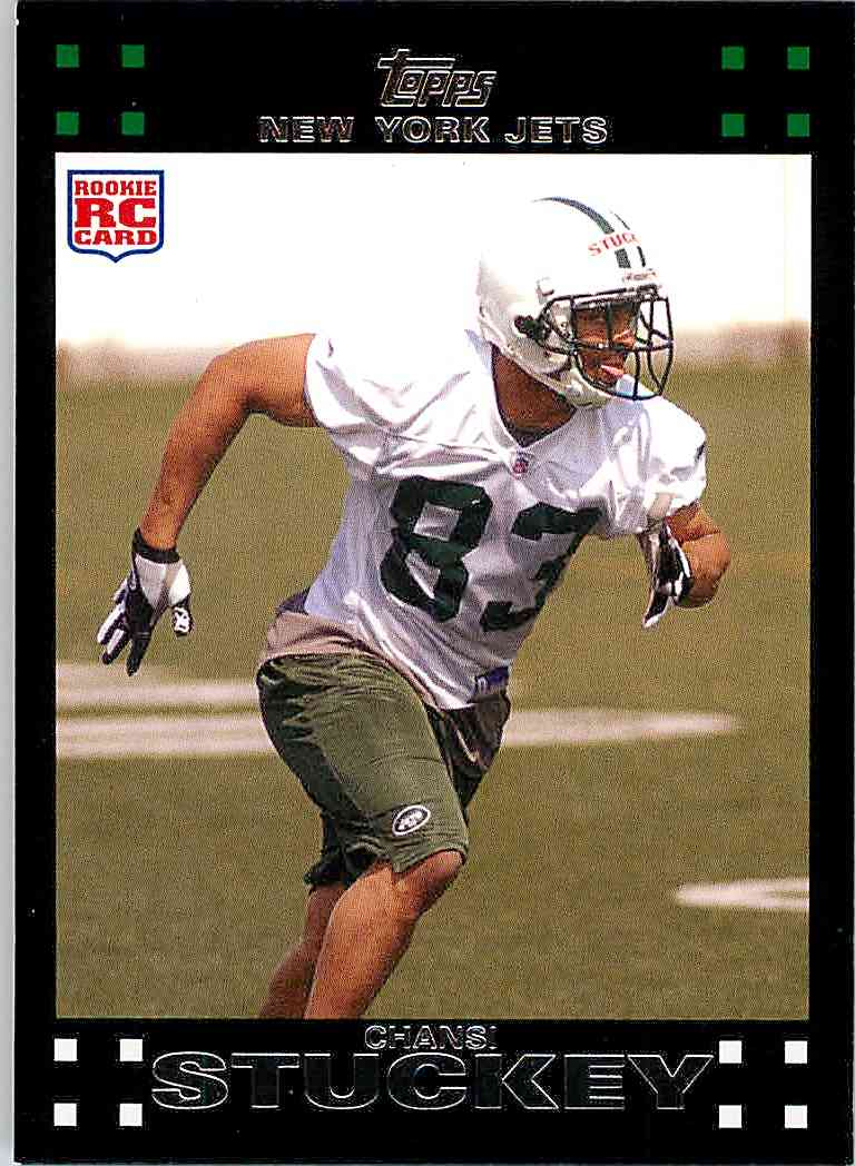 2007 Topps Chansi Stuckey #329 card front image