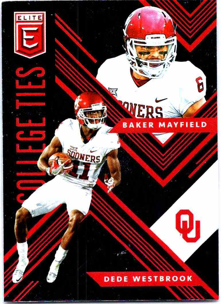 2018 Elite Draft Picks College Ties Baker Mayfielddede Westbrook 9