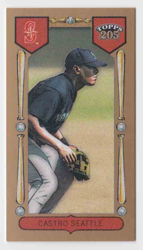 2003 Topps T205 Drum Ismael Castro #141 card front image