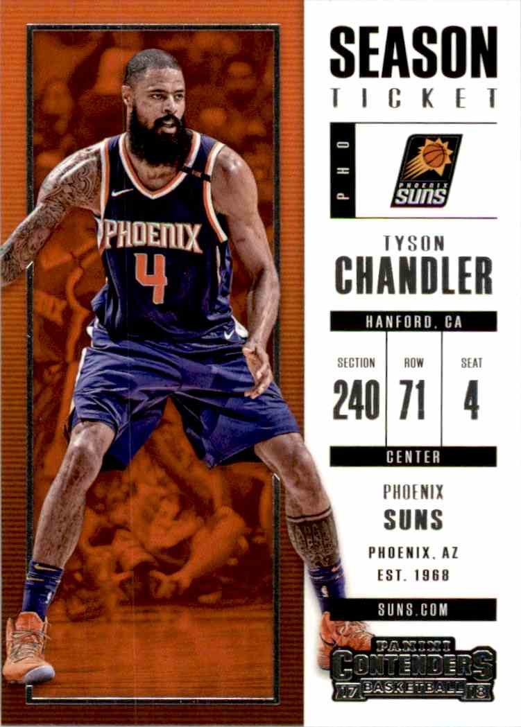 2017-18 Panini Contenders Base Tyson Chandler #21 card front image
