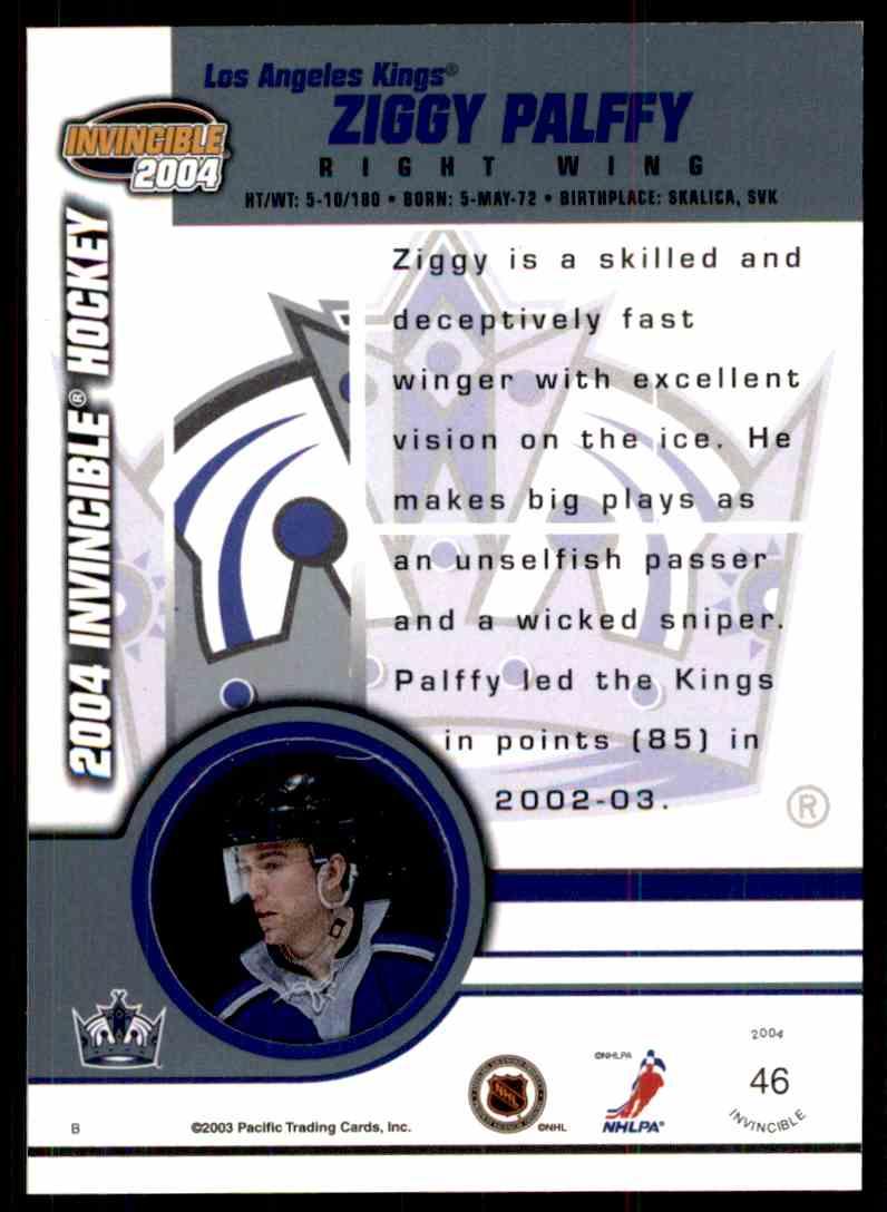 2003-04 Pacific Zigmund Palffy #46 card back image