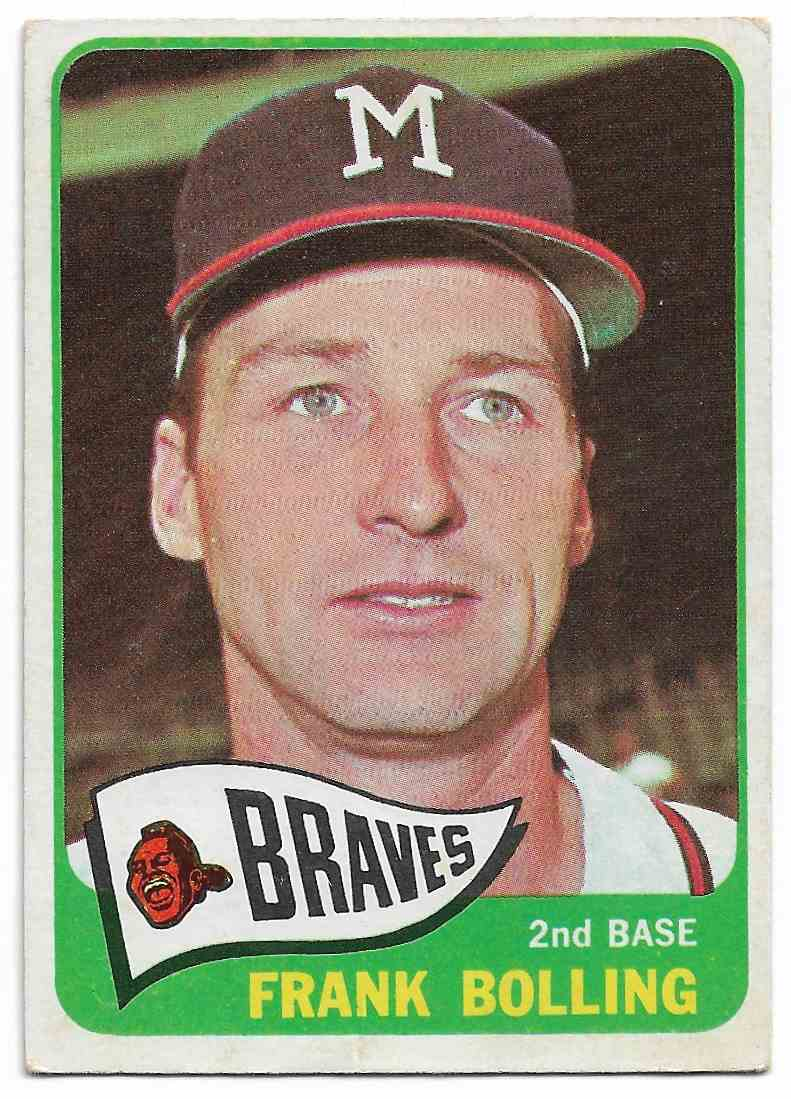 1965 Topps Frank Bolling #269 card front image