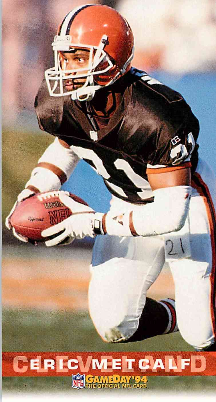 1994 Fleer Gameday Eric Metcalf #84 card front image