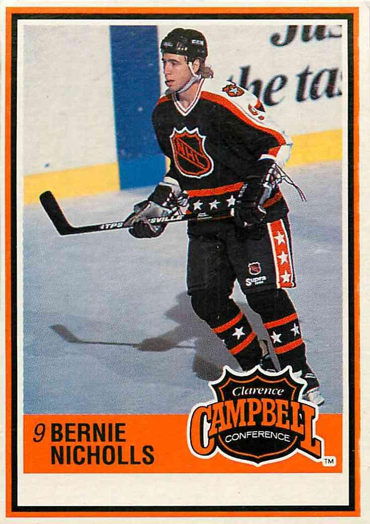 1990-91 Jell-O Bernie Nicholls #73 card front image