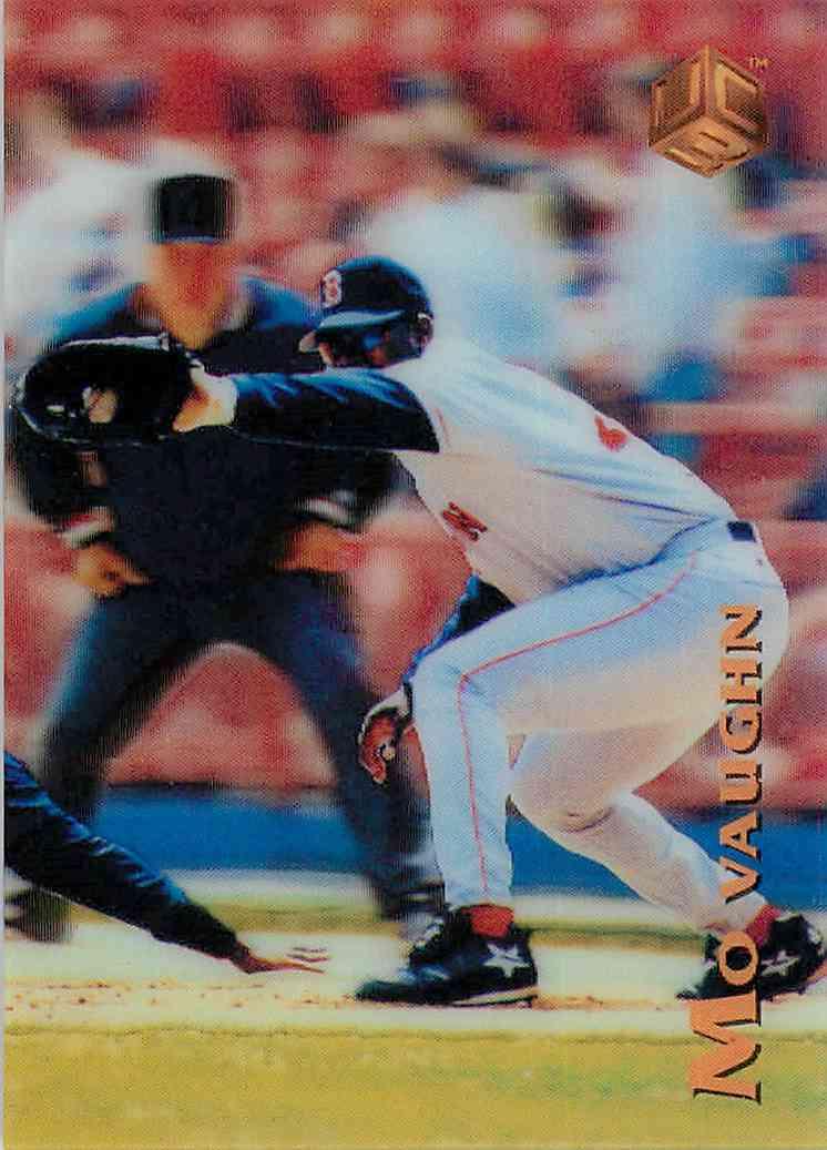 1995 Uc3 Mo Vaughn #136 card front image