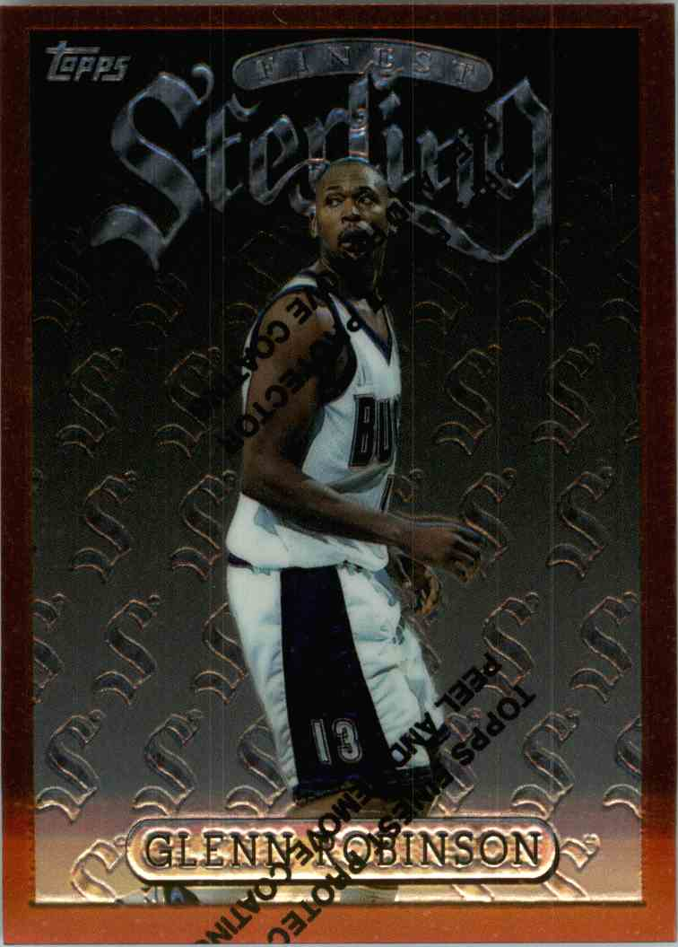 1997-98 Topps Finest Glenn Robinson #161 card front image