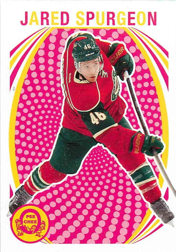 2013-14 Upper Deck O-Pee-Chee Jared Spurgeon #336 card front image