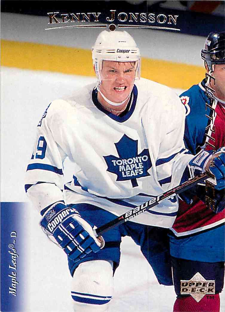 1995-96 Upper Deck Electric Ice Kenny Jonsson #463 card front image