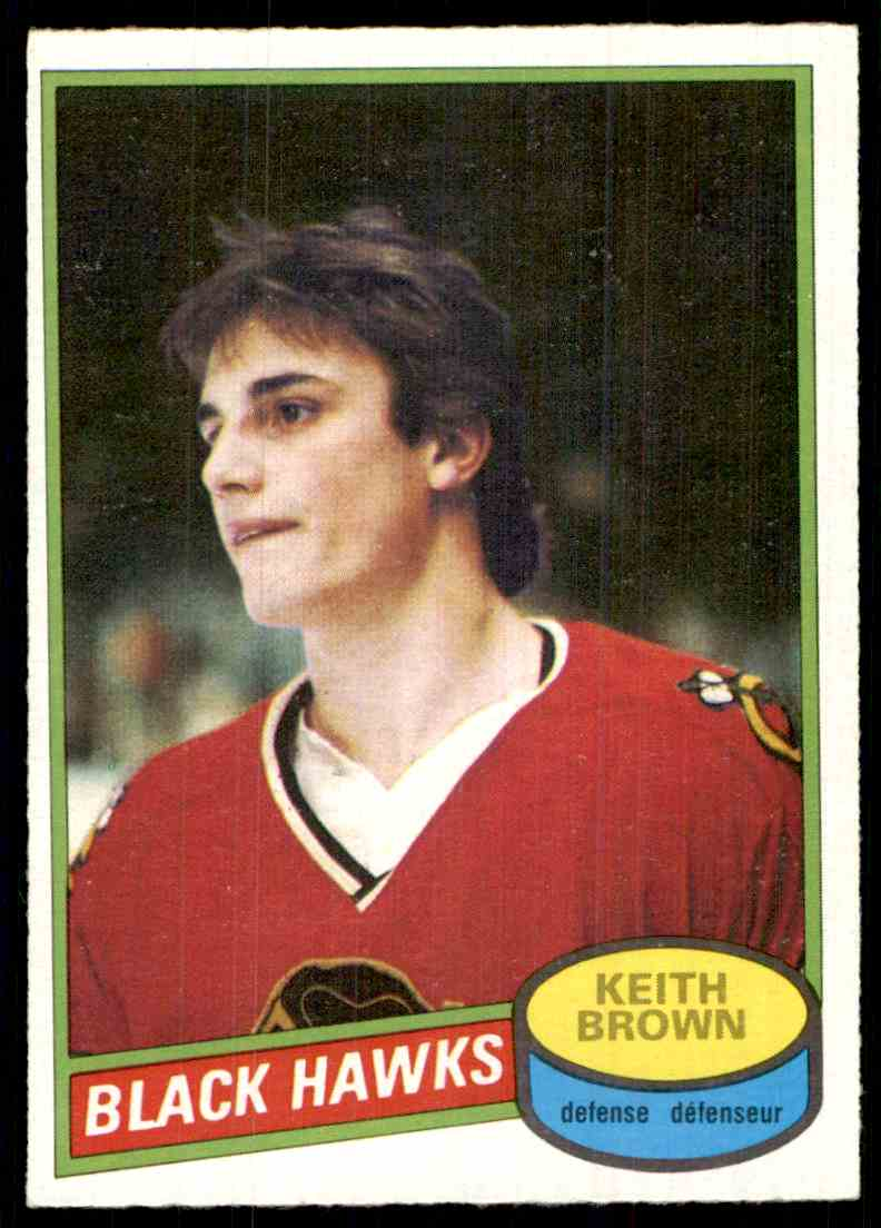 1979-80 O-Pee-Chee Keith Brown #98 card front image