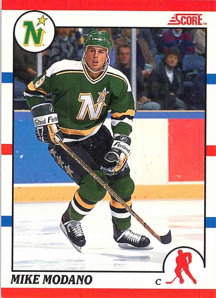 1990-91 Score Mike Modano #120 card front image