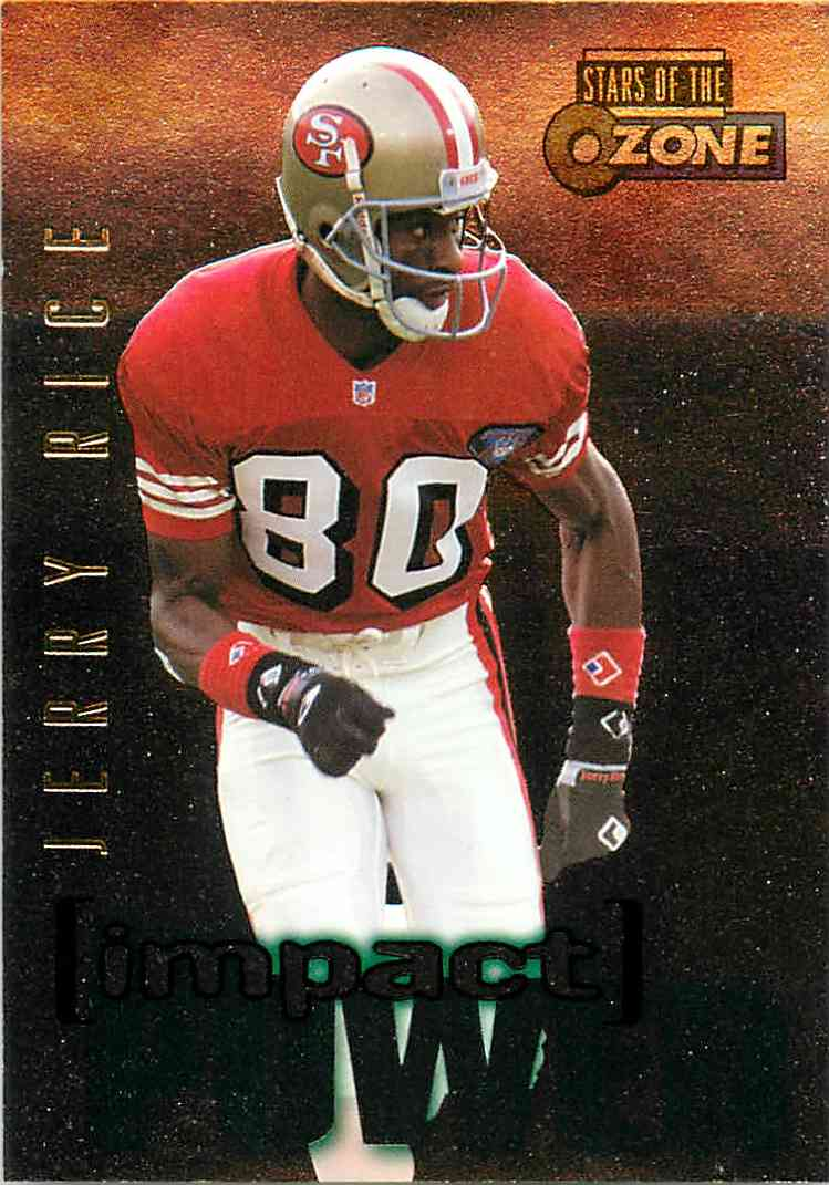 1995 Skybox Jerry Rice #IP11 card front image