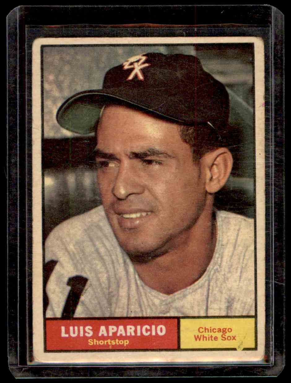 1961 Topps Luis Aparicio #440 card front image