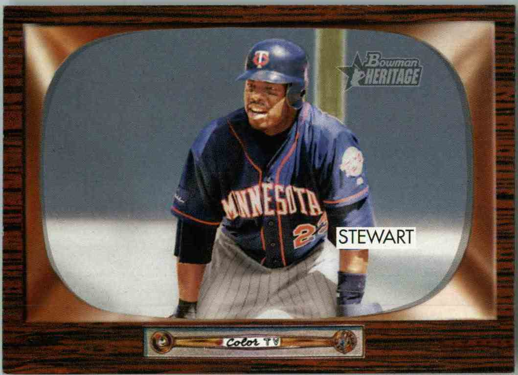 2004 Bowman Heritage Shannon Stewart #178 card front image