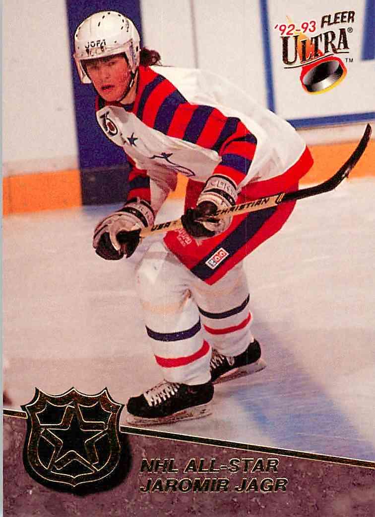 1992-93 Ultra Jaromir Jagr #6 card front image