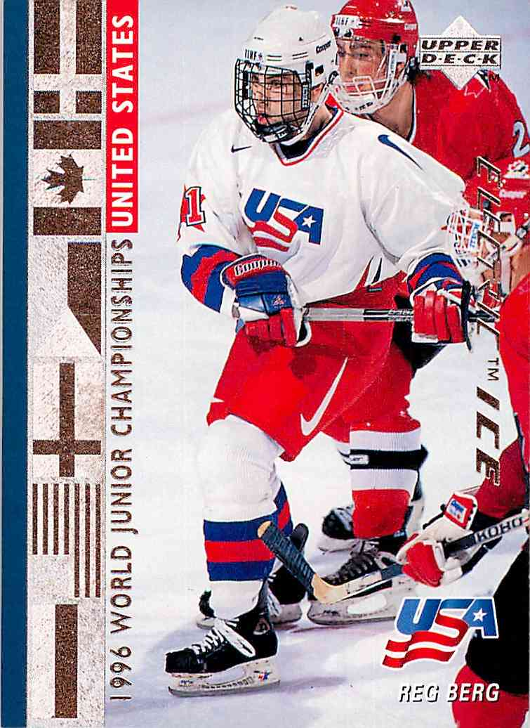 1995-96 Upper Deck Electric Ice Reg Berg #567 card front image