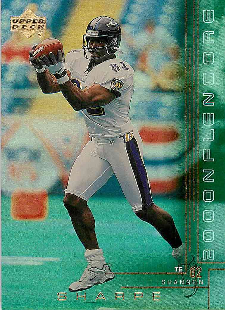 2000 Upper Deck Encore Shannon Sharpe #22 card front image