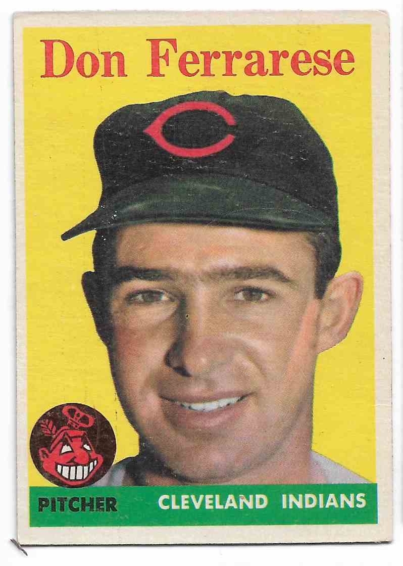 1958 Topps Don Ferrarese #469 card front image