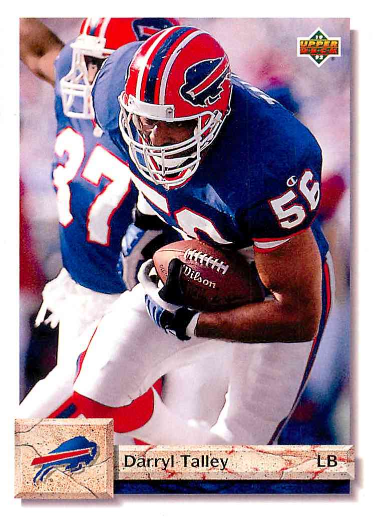 1992 Upper Deck Darryl Talley #161 card front image